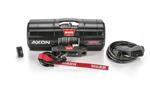 "WARN AXON 45RC Short Drum ATV/UTV Winch w/ 27' x 1/4"" Spydura Synthetic Rope"