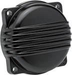 BILTWELL Finned CV Carb Top Cover (Black) for Harley-Davidson models