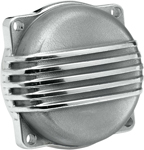 BILTWELL Finned CV Carb Top Cover (Polished) for Harley-Davidson models