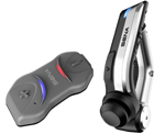 SENA 10R Low-Profile Motorcycle Bluetooth Headset & Intercom Communication System (with Handlebar Remote)