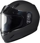 HJC Kids CL-Y Full-Face Snow Snowmobile Helmet (Matte Black)