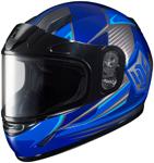 HJC Kids CL-Y Striker Full-Face Snow Snowmobile Helmet (Blue)