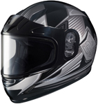 HJC Kids CL-Y Striker Full-Face Snow Snowmobile Helmet (Black)