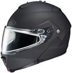 HJC IS-MAX II Modular/Flip-Up Snow Snowmobile Helmet (Matte Black)
