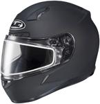 HJC CL-17 Full-Face Snow Snowmobile Helmet (Flat Black)