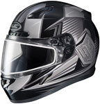 HJC CL-17 Striker Full-Face Snow Snowmobile Helmet (Grey)