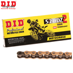 DID 520 DZ2 Super Non-O-Ring Series Non-Sealed Chain (Gold) 100 Links