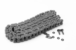 EK Chains 428 SHDR Motocross Series Non-Sealed Chain (Natural) 132 Links