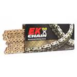 EK Chains 428 SHDR Motocross Series Non-Sealed Chain (Gold) 132 Links