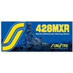 SUNSTAR 428 MXR Mini MX Series Non-Sealed Chain (Gold) 134 Links