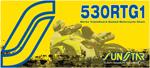 SUNSTAR 520 RTG1 Road Race Series Sealed TG-Ring Chain (Gold) 116 Links