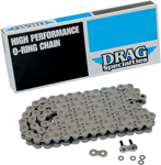 DRAG SPECIALTIES 530 Series O-Ring Chain (Natural) 106 Links