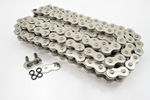 DRAG SPECIALTIES 530 Series O-Ring Chain (Chrome) 106 Links