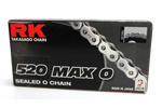RK 520 MAX-O Series Sealed O-Ring Chain (Natural) 100 Links
