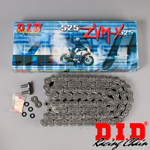DID 525 ZVM-X Super Street Series X-Ring Chain (Natural) 120 Links