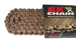 EK Chains 520 SRX2 Series QX-Ring Chain (Gold) 120 Links