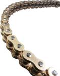 EK Chains 525 SRX2 Series QX-Ring Chain (Gold) 130 Links