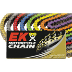 EK Chains 530 ZVX3 Series ZX-Ring Chain (Chrome) 120 Links