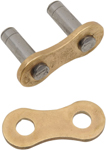 DID 520 ERT2 Series ZJ Non-Sealed Rivet Master Connecting Link (Gold)