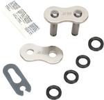 EK Chains 525 MVXZ Series SKJ QX-Ring Clip Master Connecting Link (Chrome)
