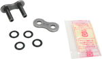 DID 525 ZVM-X Series ZJ X-Ring Rivet Master Connecting Link (Natural)