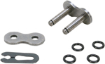 DRAG SPECIALTIES 530 Series O-Ring Clip Master Connecting Link (Natural)