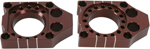 Pro Circuit Billet Axle Blocks (Anodized; Brown)
