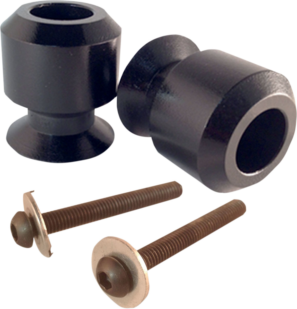 PSR Swingarm Sliders Spools (Black) 00-01922-02