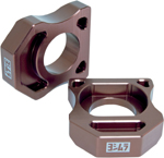 YOSHIMURA Axle Adjuster Blocks (Bronze) 2008-2010 Kawasaki ZX-10R Ninja