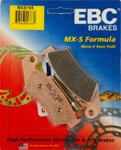 EBC MXS Series Motocross Offroad Race Sintered Brake Pads / One Pair (MXS185)