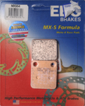 EBC MXS Series Motocross Offroad Race Sintered Brake Pads / One Pair (MXS54)