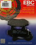 EBC Organic OE Quality Replacement Brake Pads / One Pair (FA86)