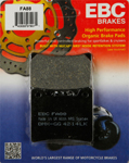 EBC Organic OE Quality Replacement Brake Pads / One Pair (FA88)