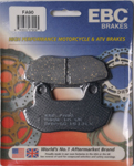 EBC Organic OE Quality Replacement Brake Pads / One Pair (FA90)