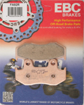 EBC R Series Long Life Sintered Brake Pads / One Pair (FA92R)
