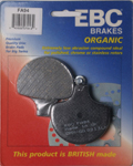 EBC Organic OE Quality Replacement Brake Pads / One Pair (FA94)
