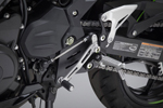 Yoshimura Rearset Offset Brackets (Black Powdercoated Aluminum)