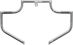 Lindby LINBAR Front Highway Bars (Chrome) 1993-2016 H-D FXDWG, FXDX, FXDS and 2008-2016 FXDF
