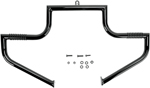 Lindby LINBAR Front Highway Bars (Black) 1997-2016 H-D FLHT, FLHX, FLHR, and FL Trikes