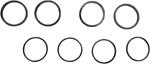 Arlen Ness - 02-845 - Replacement Seal Kit for Front Brake Caliper Housing