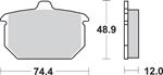 SBS H.HF Ceramic Organic Motorcycle Brake Pads (549H.HF)