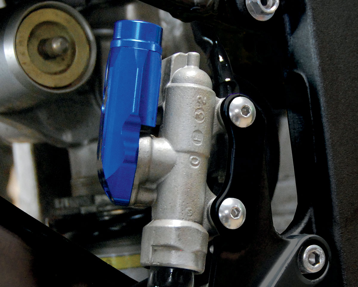 PSR Intergrated Rear Brake Reservoir (Blue) 03-01960-25