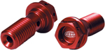 Pro Circuit Banjo Bolt/Washer Kit (Anodized; Red)