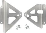 Works Connection Aluminum Radiator Braces 2005 - 2015 Honda CRF450X (Silver) 18-087
