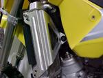 Works Connection Aluminum Radiator Brace Suzuki RM85/RM85L (Silver) 18-142