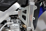Works Connection Aluminum Radiator Braces 2012 - 2015 Yamaha WR450F (Silver) 18-165