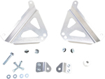 Works Connection Aluminum Radiator Braces 2014 - 2016 Yamaha YZ250F (Silver) 18-279