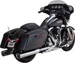 Vance & Hines - 16549 - Oversized 450 Titan Slip-On Exhaust Mufflers (Chrome)