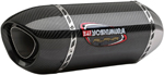 YOSHIMURA ALPHA Signature Street Slip-On Stainless Steel Exhaust System (Carbon Muffler w/ Carbon End Cap) 2015 Yamaha YZF-R1/M