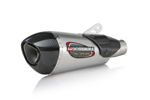 Yoshimura Alpha T Street Series Slip-On Exhaust System (SS-SS-CF Works Finish)
